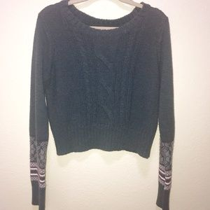 Holiday Cropped Sweater